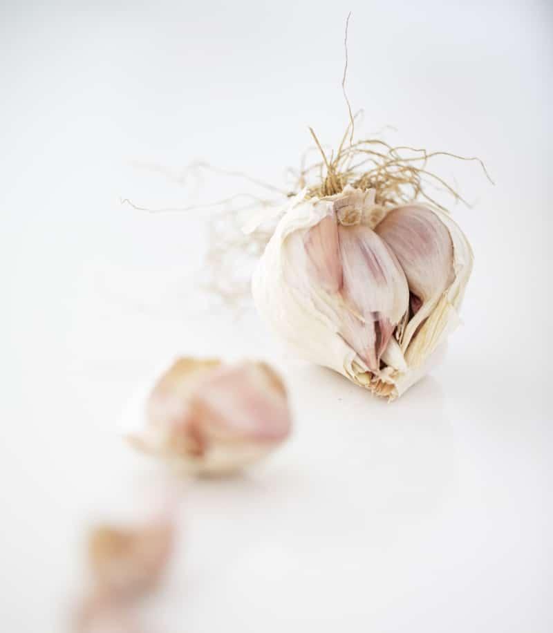 Foto aglio e ingredienti dell'Osteria Il Moro Trapani