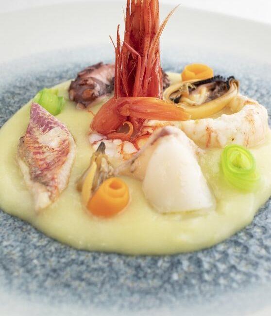 Deliziosa Insalata di mare tiepida dell'Osteria Il Moro Trapan
