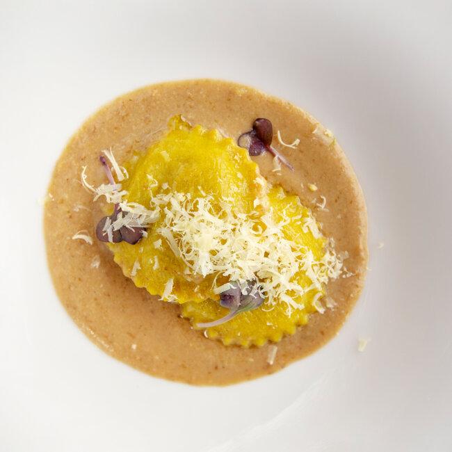 Ravioli di manzo dell'Osteria Il Moro Trapani