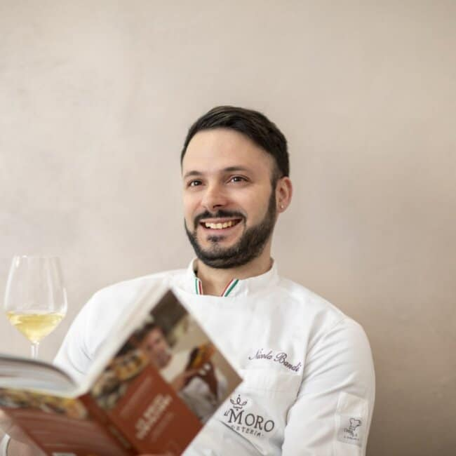 Shooting di Chef Nicola Bandi all'Osteria Il Moro Trapani